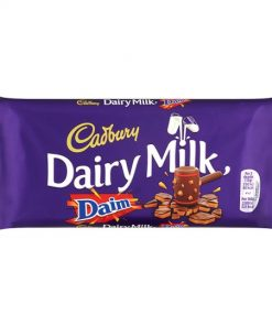 Cadbury Dairy Milk with daim Chocolate Bar 120 g