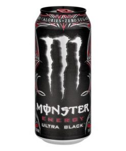 Monster Energy Ultra Black plechovka 473 ml