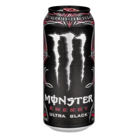 Monster Energy Ultra Black plechovka 473 ml