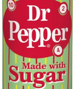 Dr. Pepper with real sugar plechovka 355 ml
