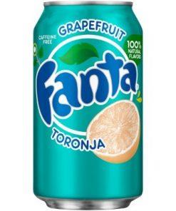 Fanta Grapefruit soda plechovka 355 ml
