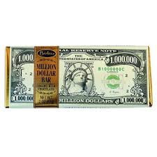 Bartons Million Dollar Dark Chocolate Peppermint Bar 57 g