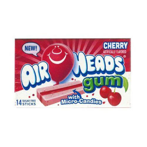 Airheads Cherry Bubble Gum 34.3 g