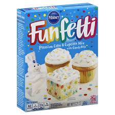 Pillsbury Funfetti Premium cake Mix 432 g
