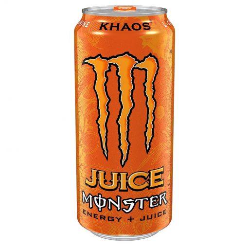 Monster Orange Khaos plechovka 473 ml