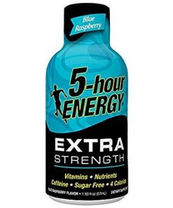 5-hour ENERGY extra strenght Blue Raspberry 57 ml