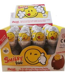 Zaini Smiley Chocolate Eggs 20 g
