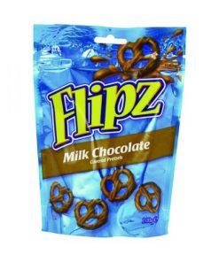 Flipz Milk Chocolate Pretzels 100 g