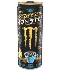 Monster Espresso Vanilla plechovka 250 ml