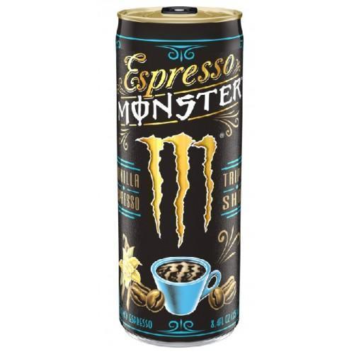 Monster Espresso Vanilla plechovka 250 ml