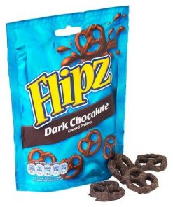 Flipz Dark Chocolate Pretzels 100 g