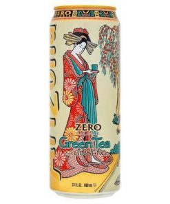 Arizona Green Tea ZERO plechovka 680 ml