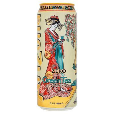 Arizona Green Tea ZERO plechovka 680 ml