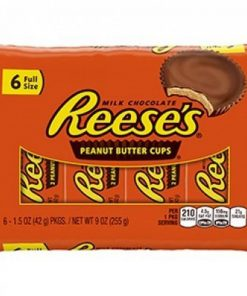 Reeses Milk Chocolate PB cups 6 Full Size 255 g