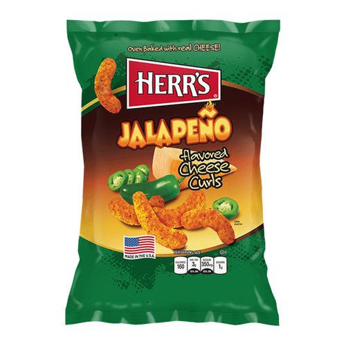 Herrs Jalapeno Cheese Curls 28.4 g