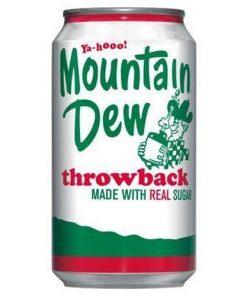 Mountain Dew Throwback plechovka 355 ml