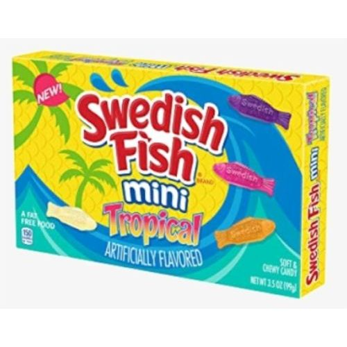 Swedish Fish Mini Tropical 99 g