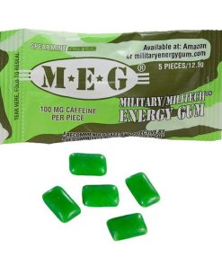 Military Energy Gum Spearmint 13 g