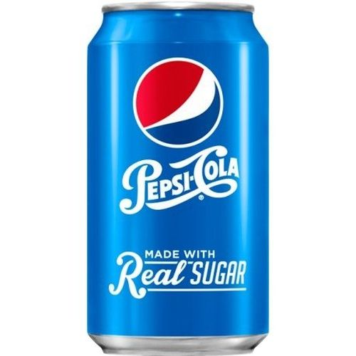 Pepsi Real Sugar plechovka 355 ml