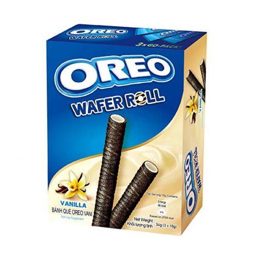 Oreo Vanilla Wafer Rolls 54 g