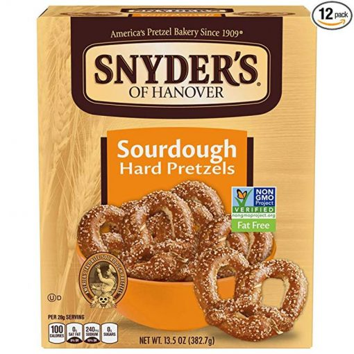 Snyders Sourdough Hard Pretzels 378 g