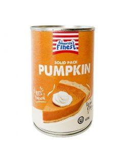 Americas Finest Solid Pack Pumpkin 425 g