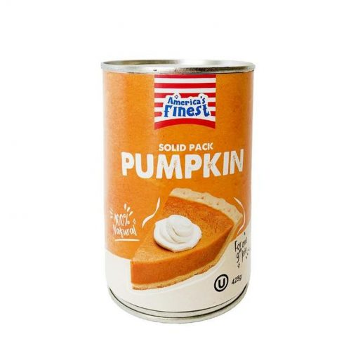 Americas Finest Solid Pack Pumpkin 425 g