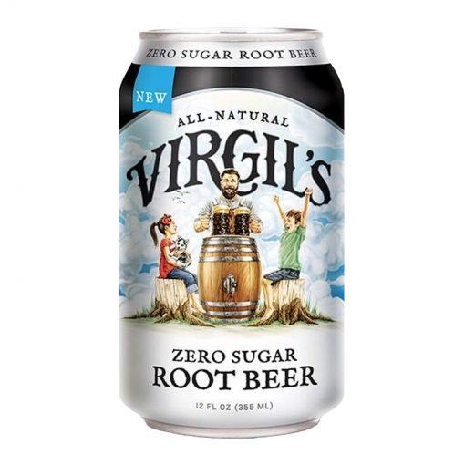 Virgils Zero Sugar Root Beer 355 ml