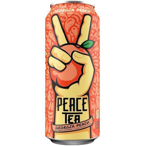 Peace Tea Georgia Peach Party plechovka 695 ml