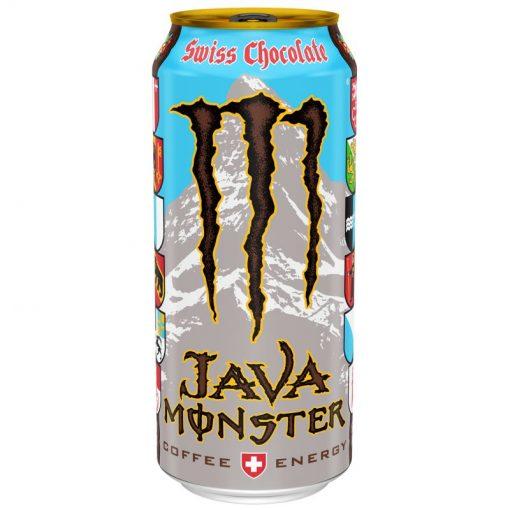 Monster Java Swiss Chocolate plechovka 443 ml