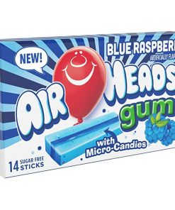 Airheads Blue Raspberry Bubble Gum 34 g