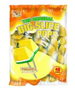 Alberts Big Slice Pops Pineapple 12 g