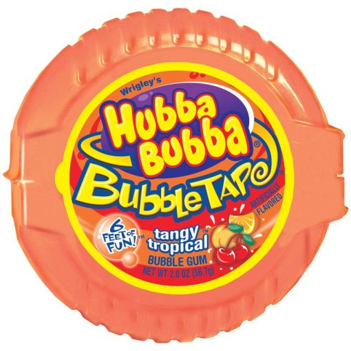 Hubba Bubba Tangy Tropical Bubble Tape 56.7 g