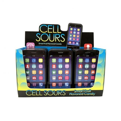 Boston America Cell Phone Sour Candy Tin 28 g