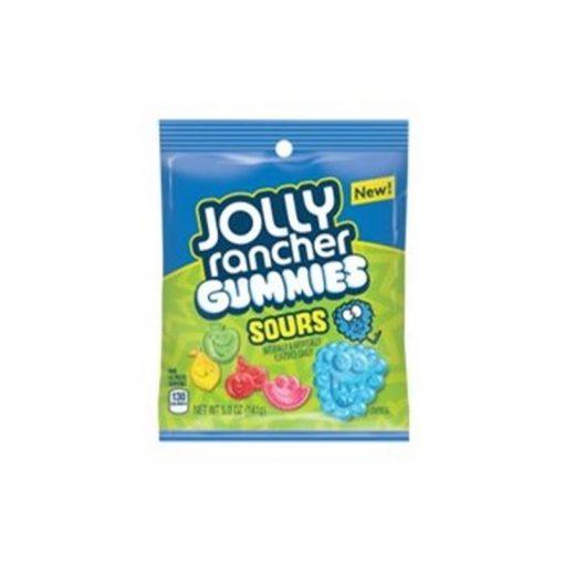 Jolly Rancher Sour Gummies Peg Bag 142 g