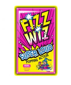 Fizz Wiz Cherry Popping Candy 4.9 g