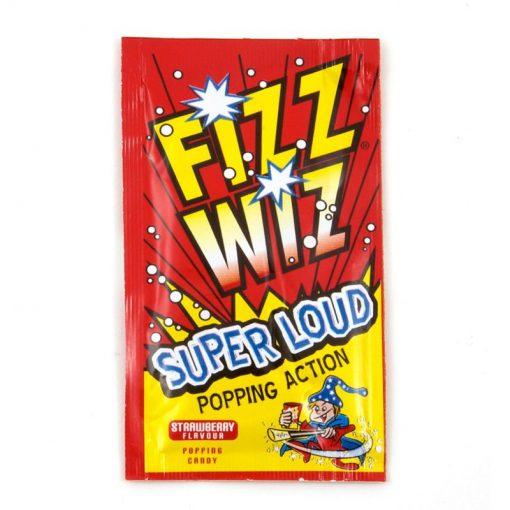 Fizz Wiz Strawberry Popping Candy 4.9 g