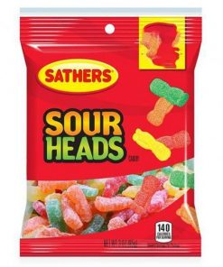Sathers Sour Heads 85 g