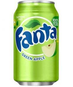 Fanta Green Apple plechovka 355 ml