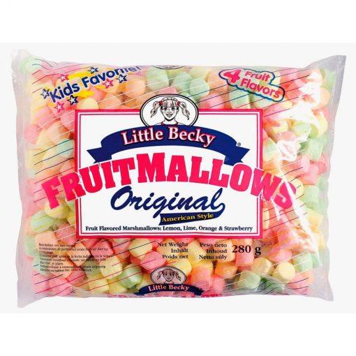 Little Becky Marshmallows Fruit Mini 280 g