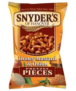 Snyders Honey Mustards and Onion Prezel 141 g