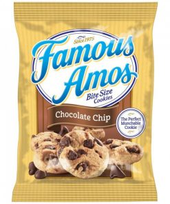 Famous Amos Bite Size Cookies Chocolate Chip 56 g