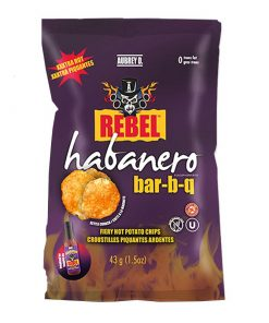 Aubrey D Habanero BBQ Potato Chips 43 g