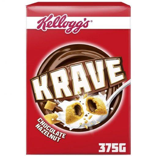 Kelloggs Krave Chocolate & Hazelnut 375 g
