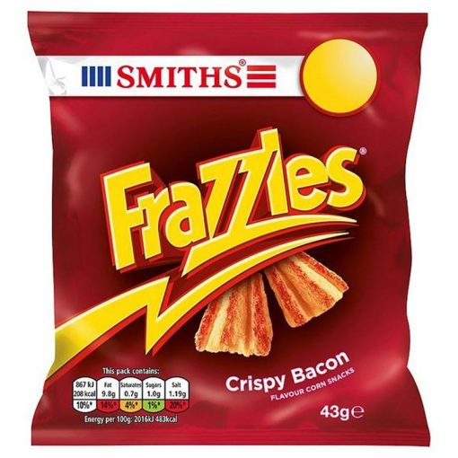 Smiths Frazzlers Bacon Crisps 34 g
