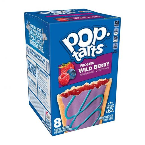 Pop Tarts Frosted Wild Berry 384 g