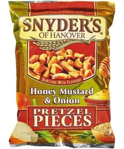 Snyders Pieces Honey Mustard & Onion 125 g