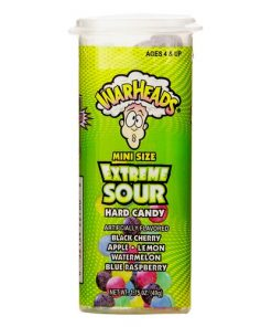 Warheads Mini Size Extreme Sour Hard Candy 49 g