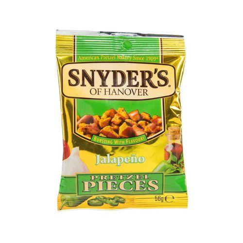 Snyders Jalapeňo Pretzel Pieces 56 g