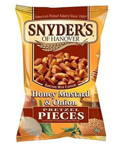 Snyders Honey Mustard & Onion Pretzel Pieces 56 g